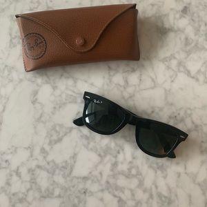 Ray-Ban Wayfarer Sunglasses + Case